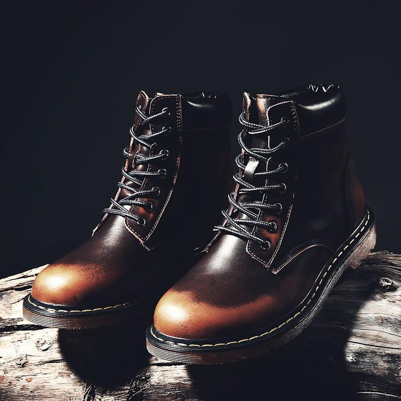 Giày Bốt Nam Cổ Cao Thời Trang Cá Tính