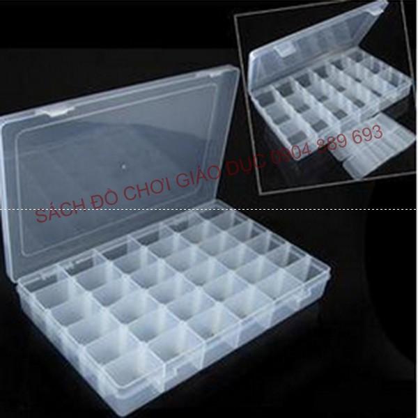 Hộp nhựa chia 36 ngăn, các ngăn có thể linh động thay đổi kích thước - 2631610 , 1273934264 , 322_1273934264 , 80000 , Hop-nhua-chia-36-ngan-cac-ngan-co-the-linh-dong-thay-doi-kich-thuoc-322_1273934264 , shopee.vn , Hộp nhựa chia 36 ngăn, các ngăn có thể linh động thay đổi kích thước