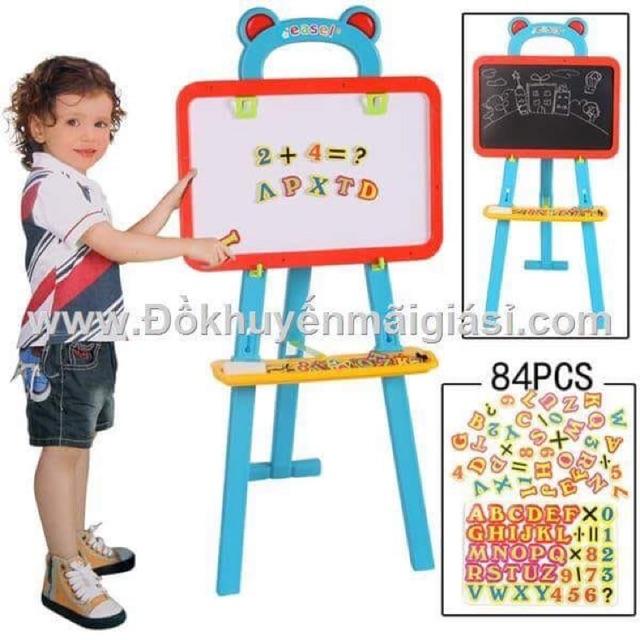 Giá vẽ 2 mặt đa năng cho bé