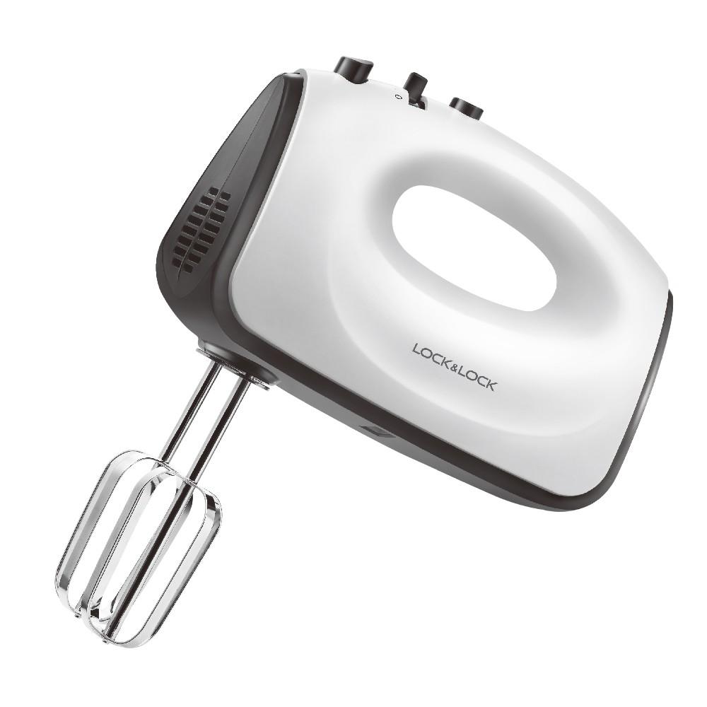 Máy Đánh Trứng Lock&Lock Hand Mixer 300W - Đen [EJM501BLK]