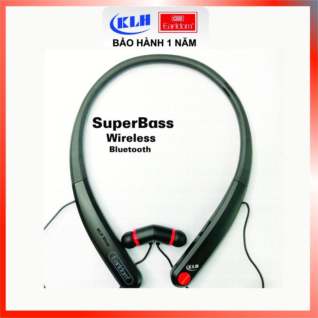 Tai nghe Bluetooth không dây thể thao siêu Bass Earldom BH21/BH13