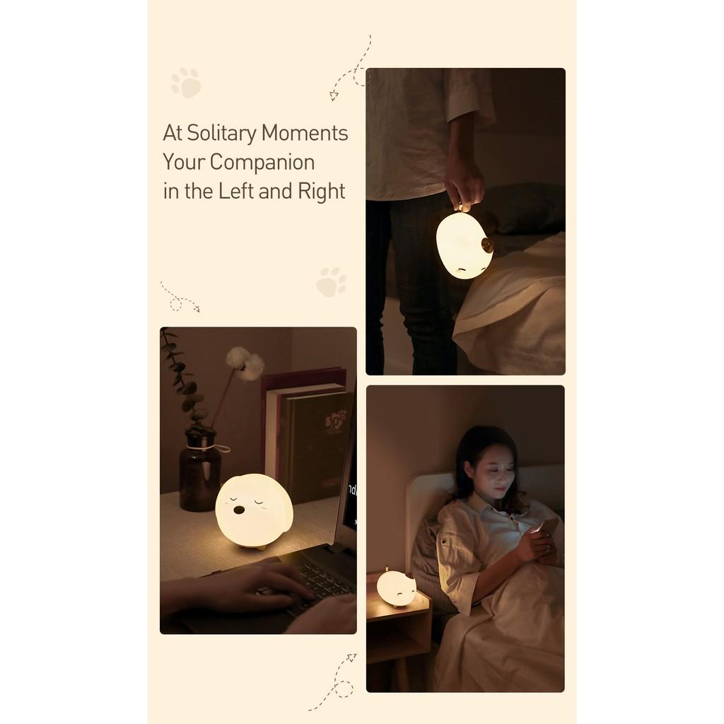 Đèn Ngủ Cảm Ứng Baseus Chất Liệu Silicon Dễ Thương