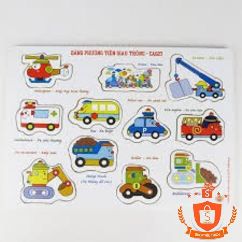 [ Có Sẵn ] Bảng các phương tiện giao thông có núm 019