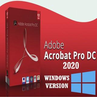 Bộ AdobeAcrobat Pro DC dùng cho 1 Pc