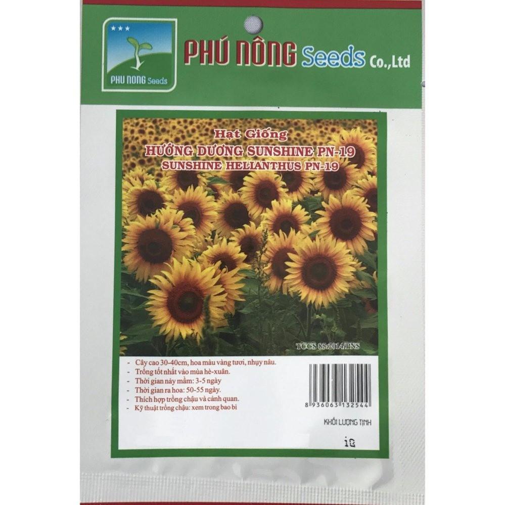 Hạt giống hoa hướng dương PN-19 - 1g (trên 45 hạt) PN132544 - 10078420 , 1208164343 , 322_1208164343 , 19000 , Hat-giong-hoa-huong-duong-PN-19-1g-tren-45-hat-PN132544-322_1208164343 , shopee.vn , Hạt giống hoa hướng dương PN-19 - 1g (trên 45 hạt) PN132544