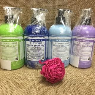 Sữa Tắm Gội Hữu Cơ Dr. Bronner's 4-in-1 Baby Không Mùi/lavender/sả chanh/bạc hà 355ml/ 710ml
