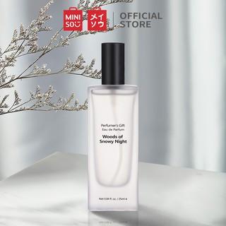 [Mã MINIJUPA giảm 10% tối đa 20K đơn 70K] Nước hoa nữ EDP Miniso - Woods of Snowy Night 25ml - Hàng chính hãng thumbnail
