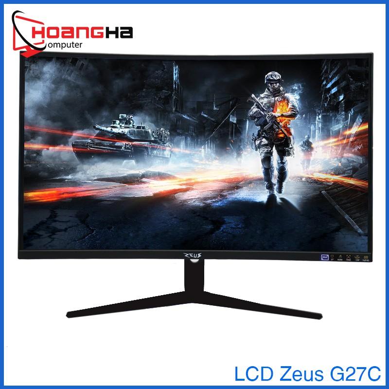 Màn Hình Máy Tính Zeus G27C Full HD Cong Full viền 75HZ RGB