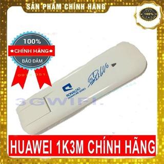 Dcom 3G Vào Mạng Dành Cho Máy Tính Huawei 1K3M Gắn Sim 3G 4G Dùng Sim Đa Mạng Dễ Sử Dụng Cắm Là Chạy