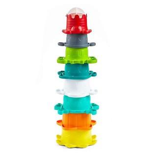 [Mã TOY1012 hoàn 10% xu đơn 99k] Bộ cốc xếp chồng kết hợp đồ chơi tắm - INFANTINO thumbnail