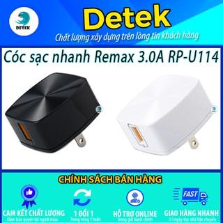 Cóc sạc nhanh Remax 3.0A RP-U114