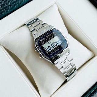 Đồng hồ nam jp casio A158-159 full box điện tử chống nước siêu đẹp, thời thượng, trẻ trung, cá tính thumbnail