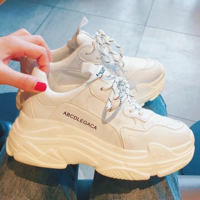 Giày thể thao ABC( lưu ý size in trên mặt giày là để trang trí )