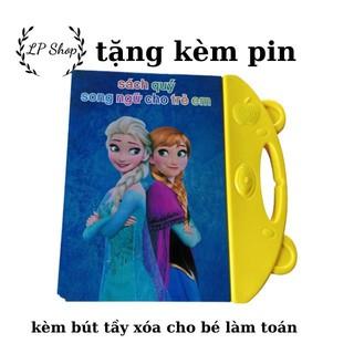Đồ chơi trí tuệ dành cho trẻ TT34- sách quý song ngữ- sách nói điện tử song ngữ Anh – Việt cho bé