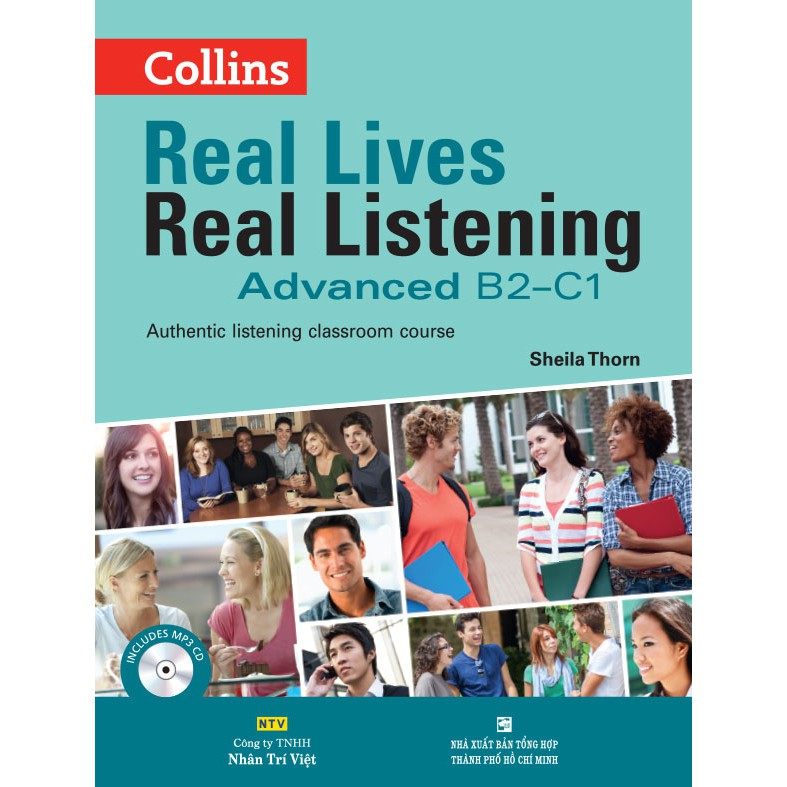 Collins Real Lives Real Listening - Advanced B2-C1 (kèm CD) - 3370896 , 976043503 , 322_976043503 , 348000 , Collins-Real-Lives-Real-Listening-Advanced-B2-C1-kem-CD-322_976043503 , shopee.vn , Collins Real Lives Real Listening - Advanced B2-C1 (kèm CD)