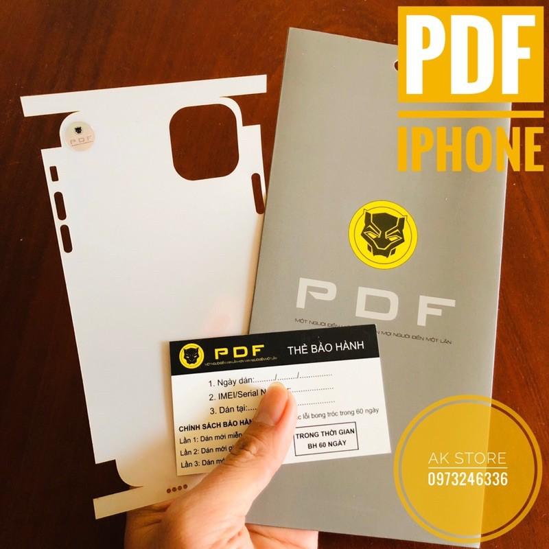 [Dễ Dán] Miếng dán PPF/PDF cho Iphone cao cấp