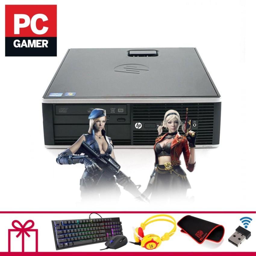 Máy tính để bàn HP 6000 Pro SFF (Core 2 Quad Q9400, Ram 8GB, SSD 480GB, VGA RỜI 1GB) + Quà Tặng - Hàng Nhập Khẩu