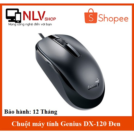 Chuột máy tính Genius DX-110/120 Đen Chính hãng BH: 12 Tháng - 2750660 , 1224243438 , 322_1224243438 , 90000 , Chuot-may-tinh-Genius-DX-110-120-Den-Chinh-hang-BH-12-Thang-322_1224243438 , shopee.vn , Chuột máy tính Genius DX-110/120 Đen Chính hãng BH: 12 Tháng