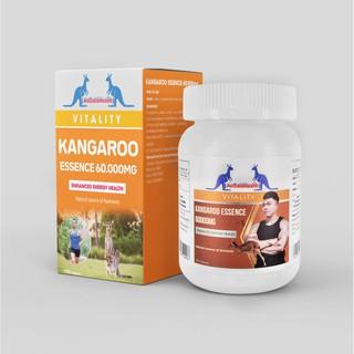 Viên Uống Tăng Cường Sinh lý Nam Giới Augoldhealth Kangaroo Essence 60000mg của Úc Hộp 100 viên thumbnail