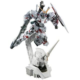 Mô hình lắp ráp HG UC 1/144 Gundam Unicorn Destroy mod kèm Head Base (không kèm hộp, có kèm manu)