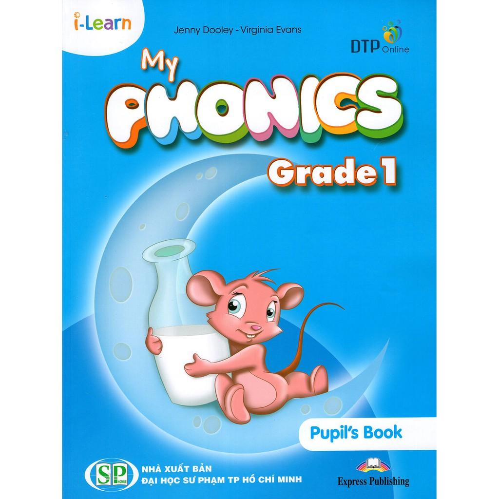 Bộ sách tiếng Anh I-Learn My Phonics Grade 1 - Tác giả: Jenny Dooley - Virginia Evans