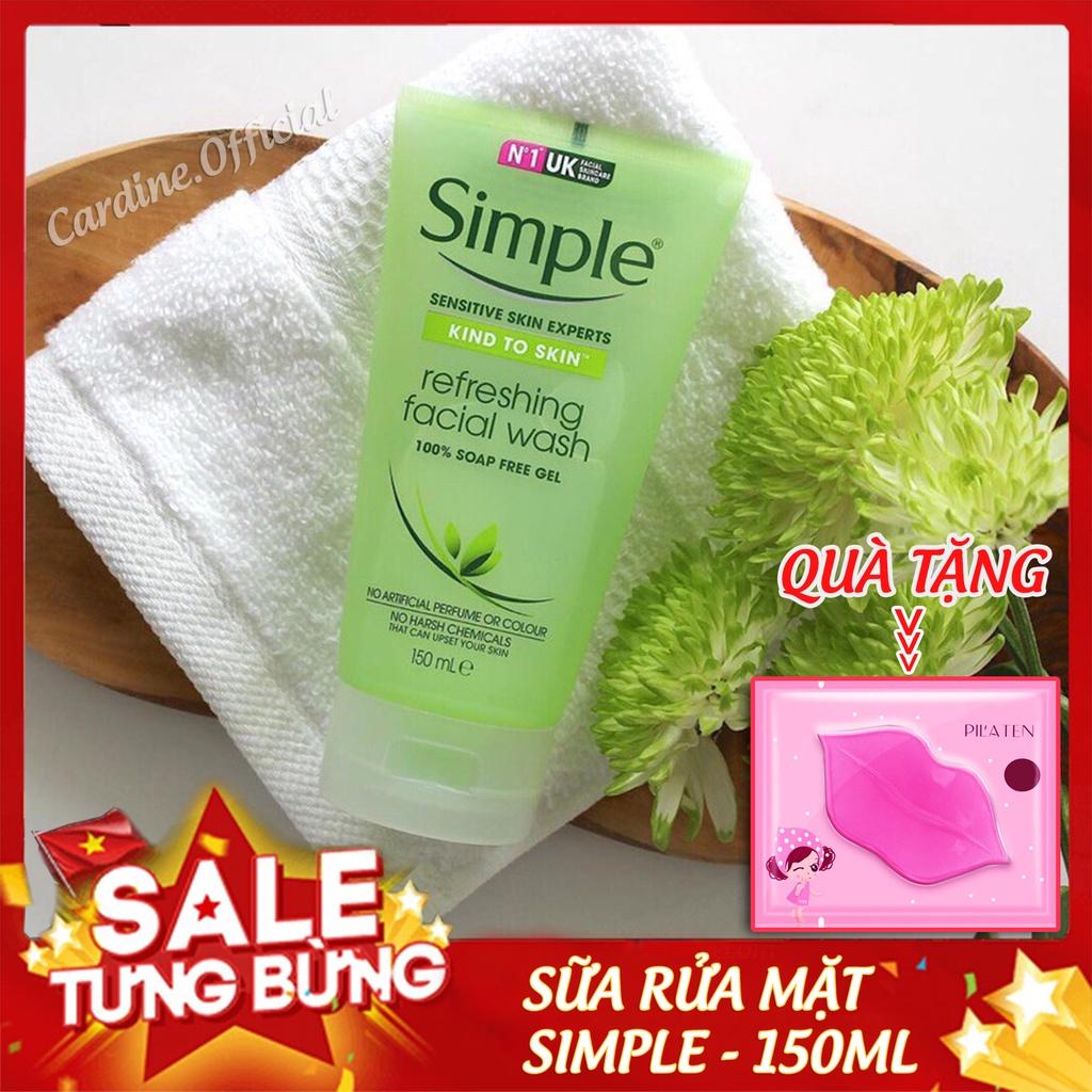 Sữa rửa mặt simple gel kind to skin bill 4 date 4 năm 150ml