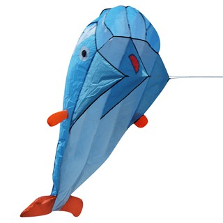 ☾MY]☽☞ 3D Huge Soft Parafoil Giant Dolphin Kite Outdoor Sport Dolphins Kites