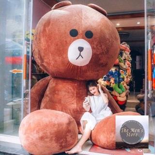 [ẢNH THẬT]Size 1m2 Gấu Bông Brown siêu hot