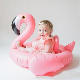 Phao bơi thiên nga, phao bơi hồng hạc, phao bơi thiên nga hồng cho bé cực sang chảnh, phao bơi xỏ chân cho bé