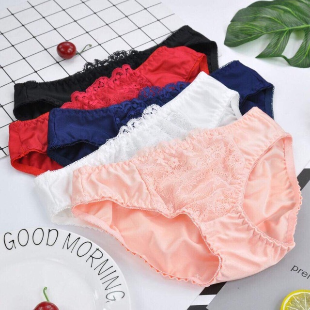 Bộ đồ lót pha ren không gọng đệm mỏng | SaleOff247