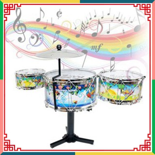 [ SALE SẬP SÀN ] Bộ Trống Jazz Drum 3 Trống Cho Bé Loại Tốt