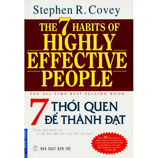 sách- 7 thói quen để thành đạt