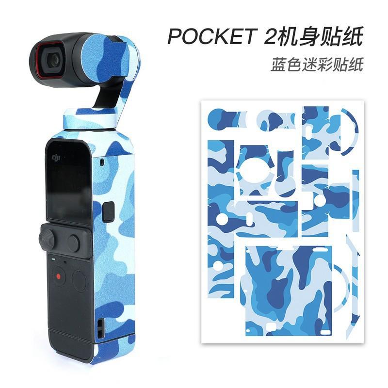 Sticker Dán Thân Máy Ảnh Dji Pocket 2