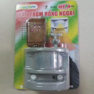 BÁO TRỘM, BÁO ĐỘNG hồng ngoại CÓ REMOTE ĐIỀU KHIỂN TỪ XA (hàng Việt Nam sản xuất)