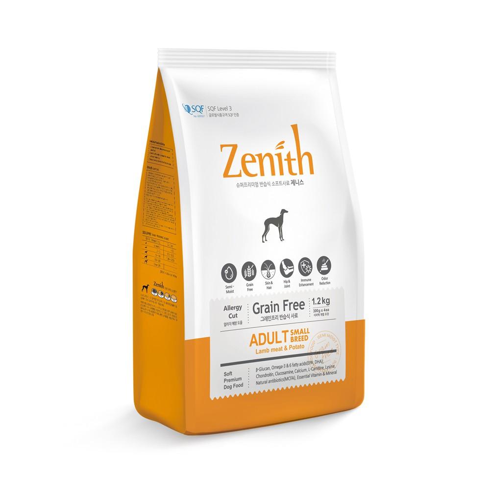 Thức ăn hạt mềm chó trưởng thành ZENITH ADULT 1,2kg