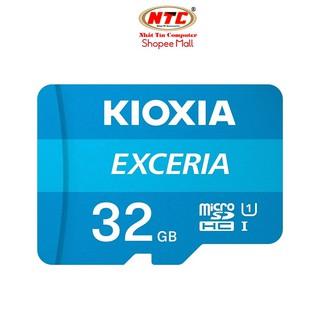 Thẻ nhớ MicroSDHC Kioxia Exceria 32GB UHS-I U1 100MB/s (Xanh)