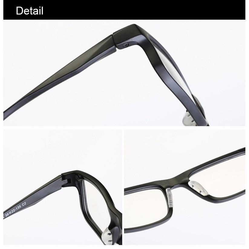 6 in 1 clip magnetic sunglasses clip on glasses frame eyeglasses frames