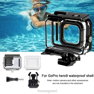 Waterproof Housing Outdoor Lightweight Dustproof Transparent Underwater Diving Portable 50M For Gopro Hero 9
