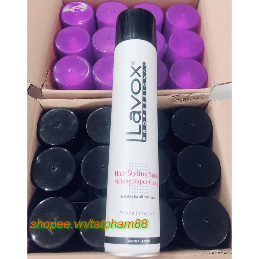 Keo Xịt Tạo Kiểu Tóc cứng Lavox 420ml TAT cung cấp và bảo trợ.