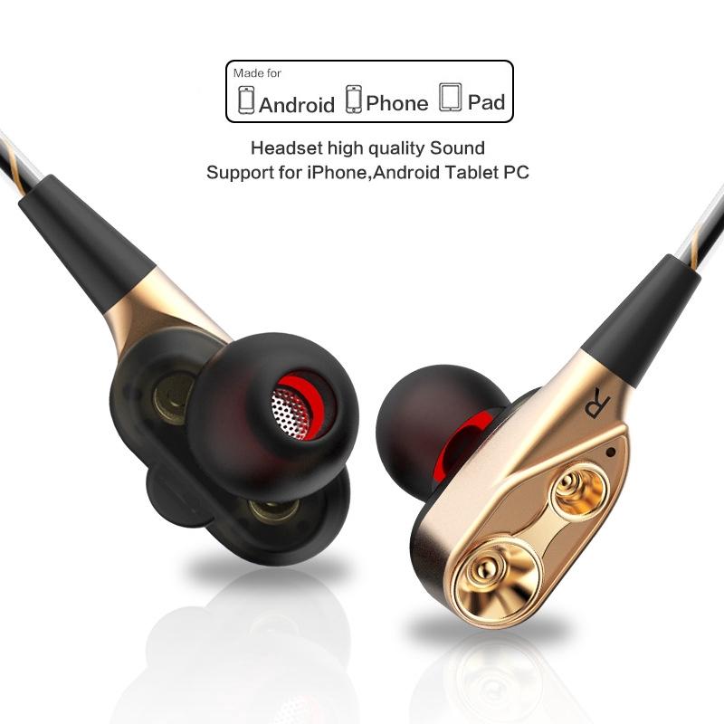 Tai nghe nhét tai QKZ CK8 giắc cắm 3.5mm âm thanh hifi dùng chơi game / nghe nhạc