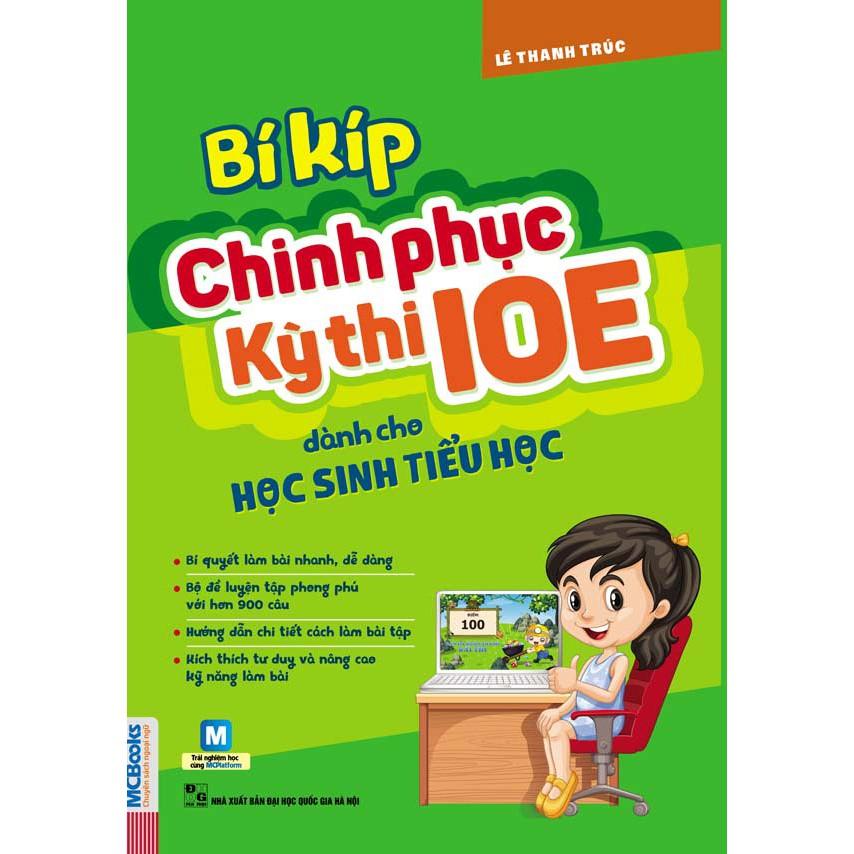 Bí kíp chinh phục kì thi IOE dành cho học sinh tiểu học