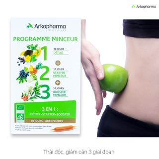 Detox thải độc giảm cân Arkopharma Detox thumbnail