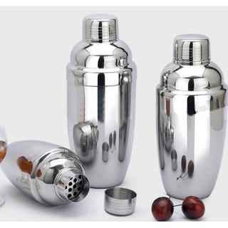 Bình lắc shaker pha chế, Bình lắc Cocktail bằng Inox 350ml 500ml 700ml