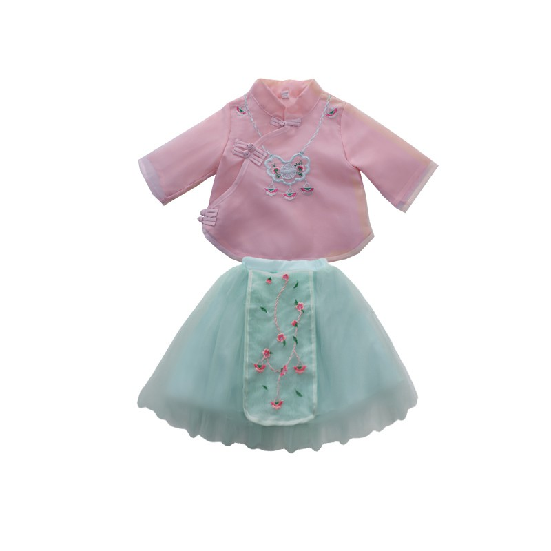 Bộ váy kiểu Hán Phục xinh xắn cho bé gái - 22024640 , 7807694624 , 322_7807694624 , 248300 , Bo-vay-kieu-Han-Phuc-xinh-xan-cho-be-gai-322_7807694624 , shopee.vn , Bộ váy kiểu Hán Phục xinh xắn cho bé gái