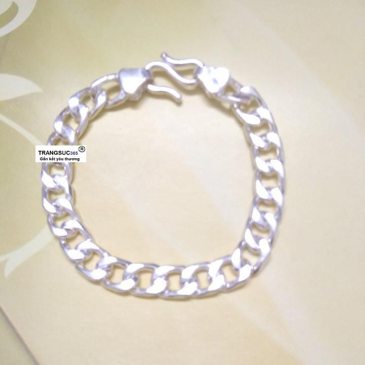 Lắc tay nam bạc ts365-la002, vòng tay nam bạc ts365-la002