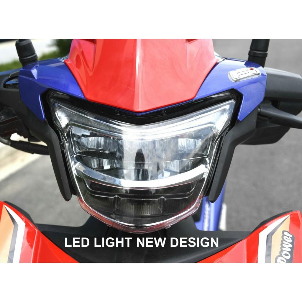 Pha đèn (Chóa đèn) led 2 tầng xe Exciter 150