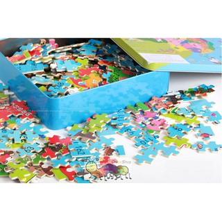 Ghép hình puzzle 300 miếng – Phát triển tư duy