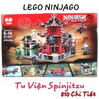 [FLASH SALE] Lego NinjaGo Tu viện Spinjitzu NO.76013