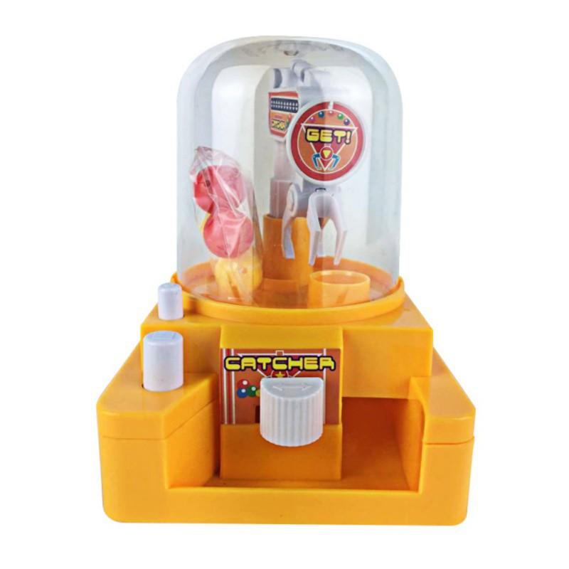 BOBORA Baby Mini Game Machine Gum Catcher Gift (random color)