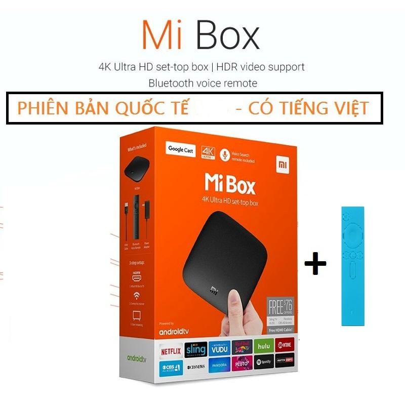{SIÊU PHẨM} MIBOX 4K Bản Quốc Tế Global (Android 6.0 )